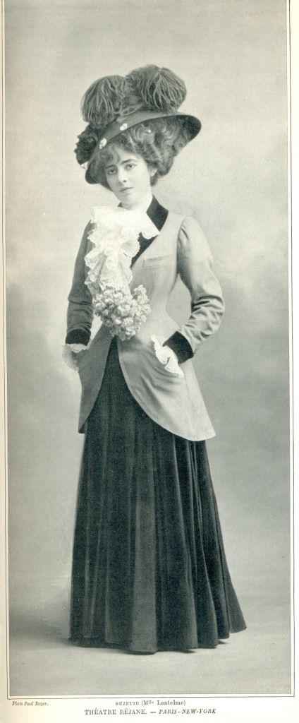 Lantelme Paris New York 1907