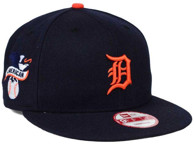 Detroit Tigers MLB 2 Tone Link 9FIFTY Snapback Cap Hats