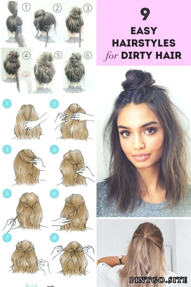 30 Lovely Easy Hairstyles For Medium Hair Simple And Easy ...