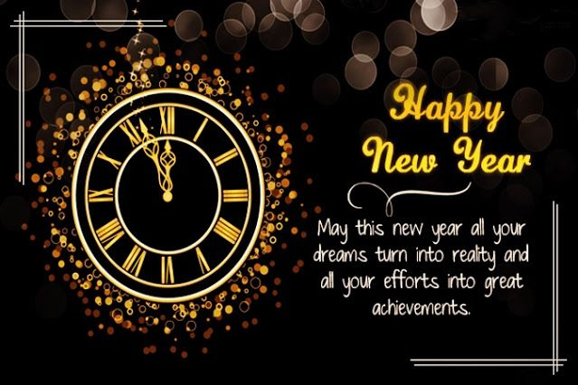 happy new year everyone may all of your wishes and dreams come true this year