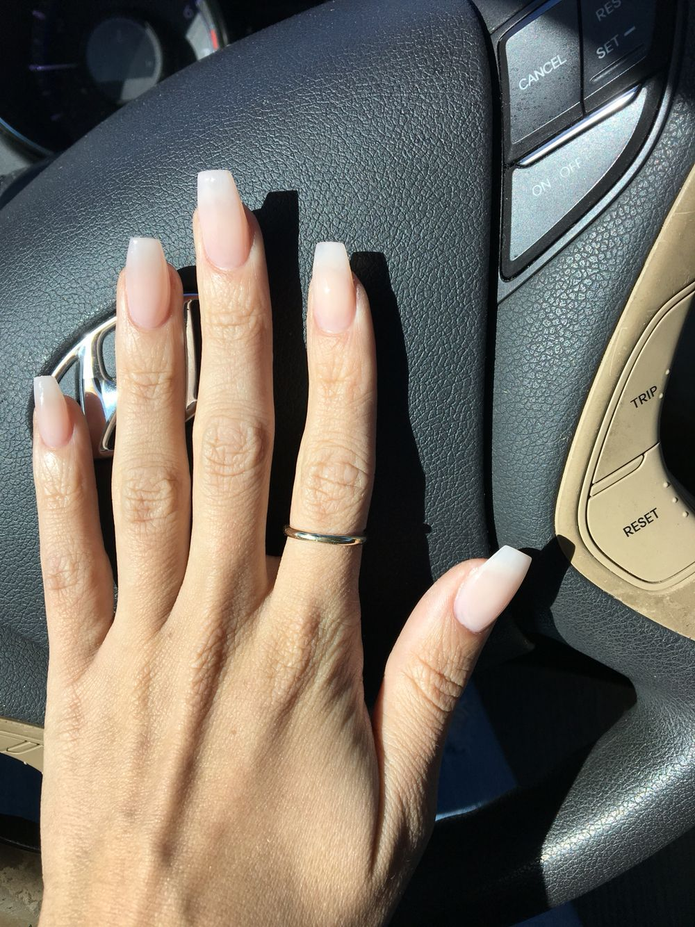 Neutral Nail Color Neutral Nails Faded Nails Ballerina Nails