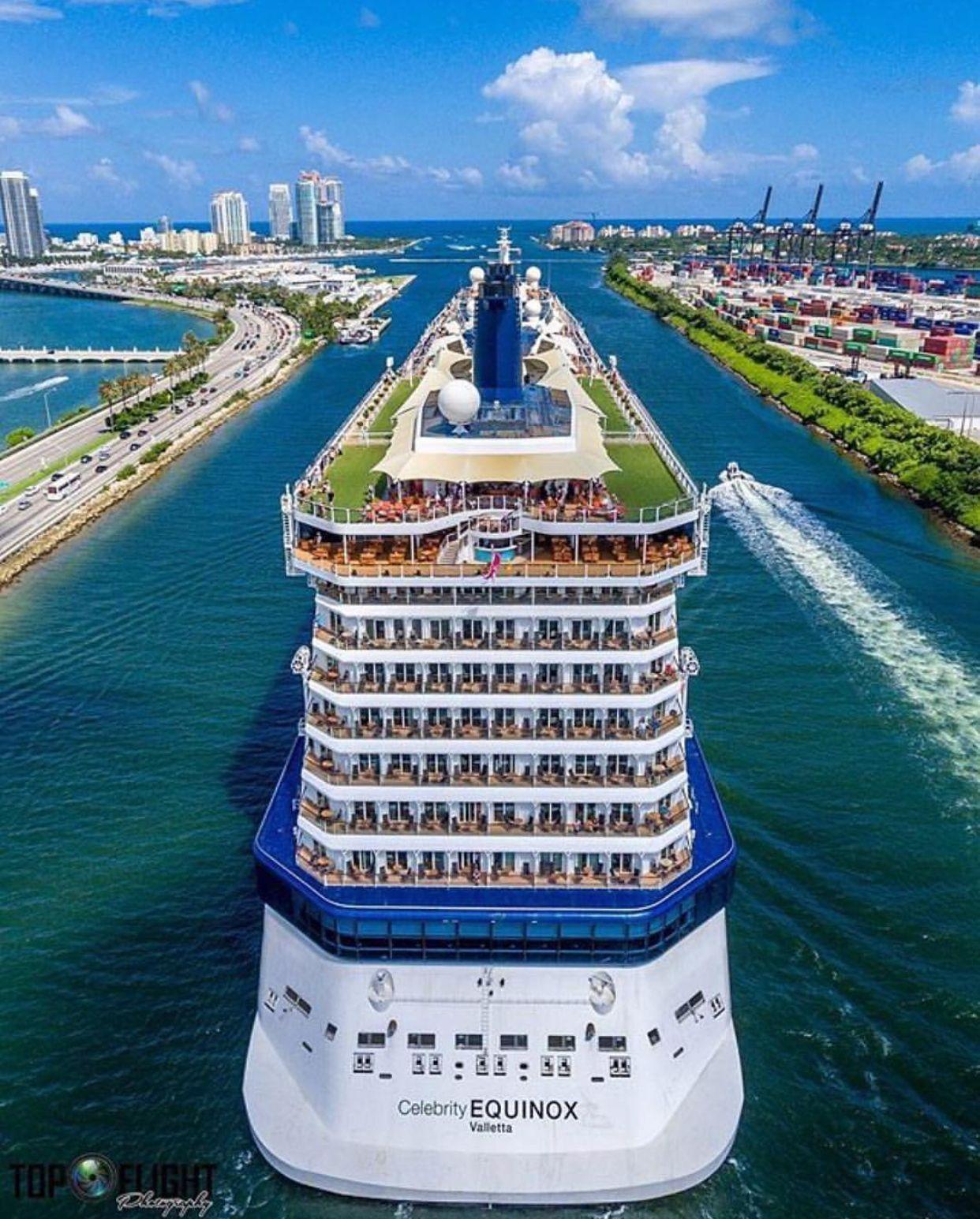 Celebrity Equinox Miami Cruiseshipcelebritybeyond Luxury