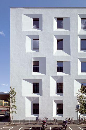Ex-post Bolzano, Italy's first public Passive House