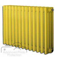 3 Column Horizontal Rape Yellow Column Radiators