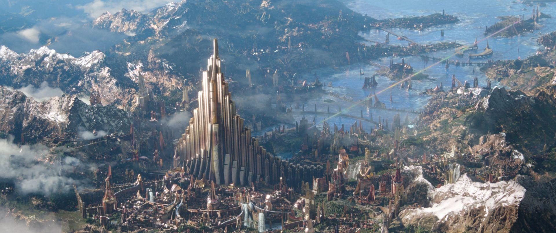 ArtStation - Asgard / thor ragnarok, The Frisbeeman (con immagini)