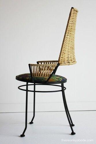 Mid Century Arthur Umanoff Highback Side Chair For Shaver Howard | EBay    Like My Pair