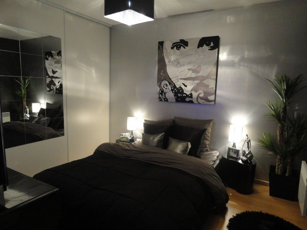 black gray bedroom ideas