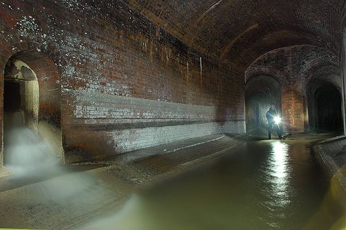 Sewer System Uk London Fleet Sewer In 2019 Sewer