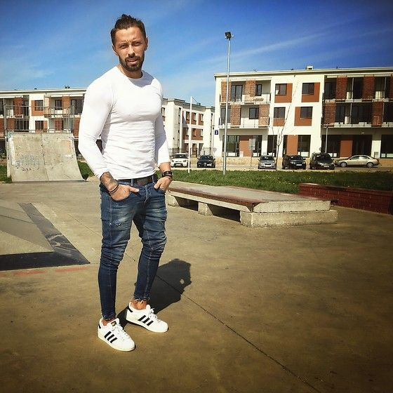 adidas superstar outfit hombre