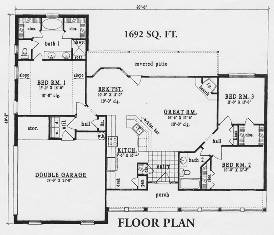 House 1692 Volk Homes New House Plans House Plans One Story Small House Plans
