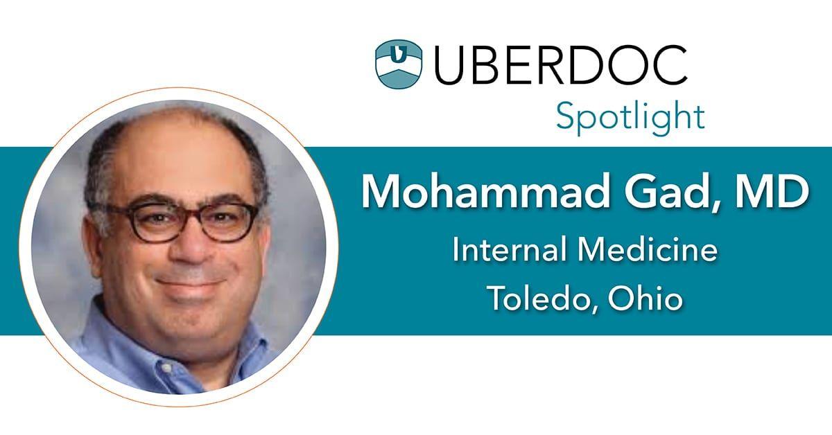 Spotlight on Dr. Mohammad Gad Urgent care near me