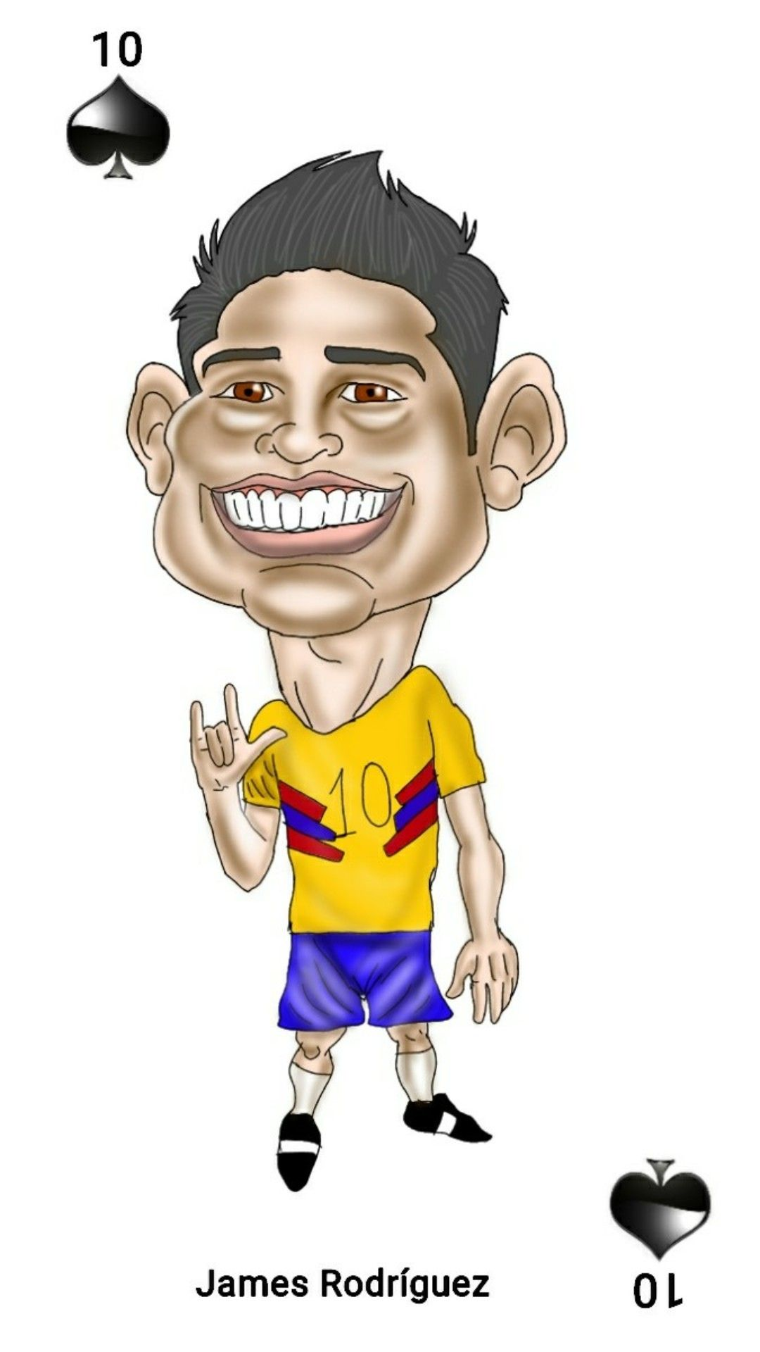 James Rodriguez Caricaturas James Rodriguez Caricaturas Fondo De Pantalla De Inicio