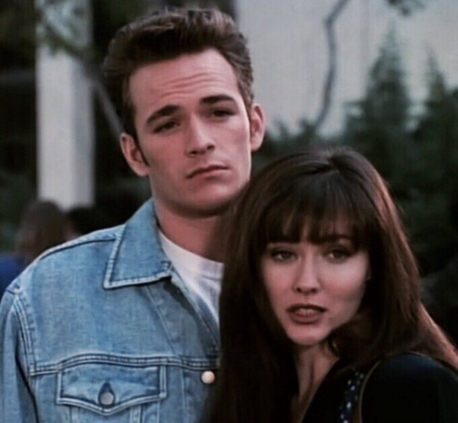 Dylan Mckay and Brenda Walsh | Luke Perry in 2019 | Beverly