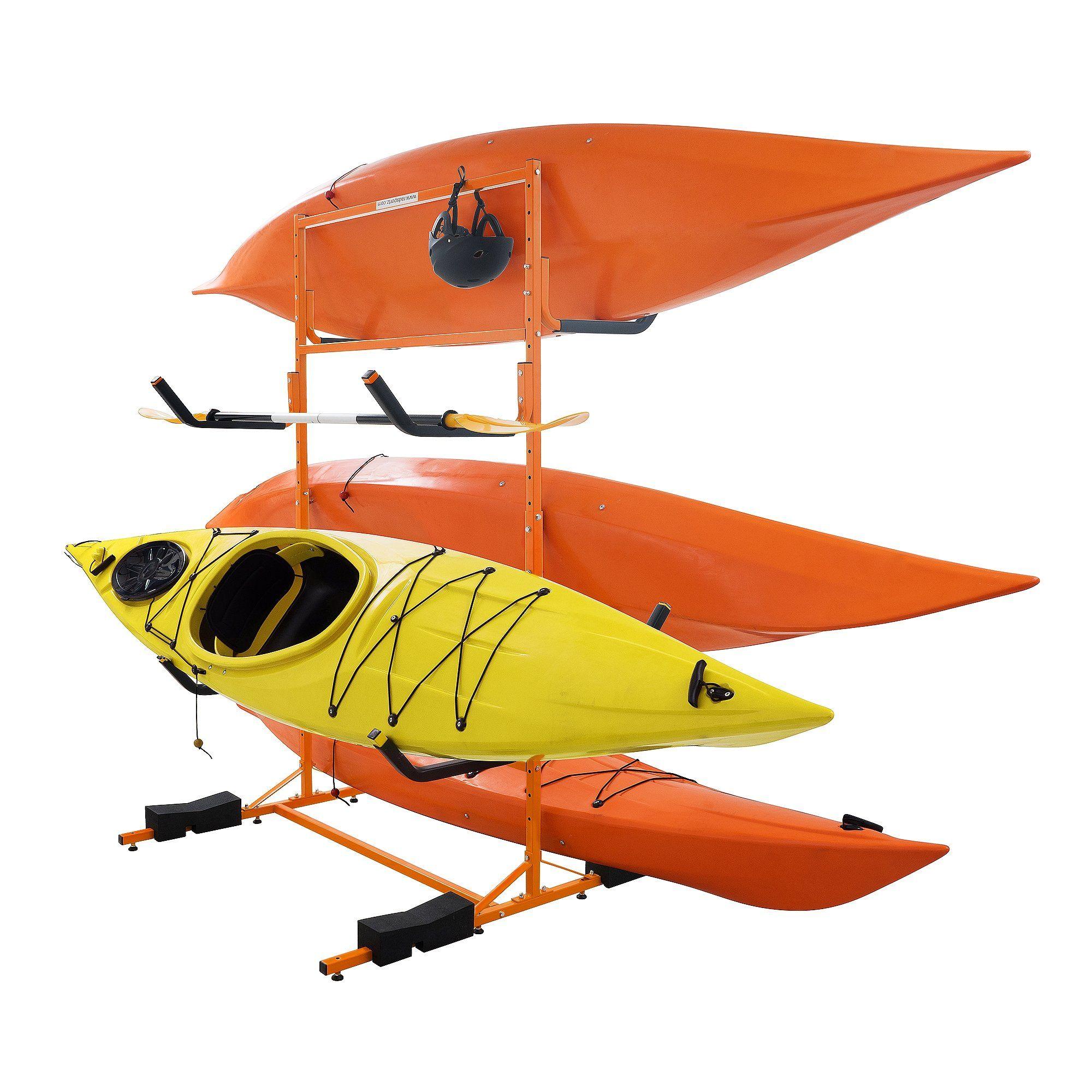 Canoe Rack ** RAD Sportz Tall Stand Freestanding Heavy