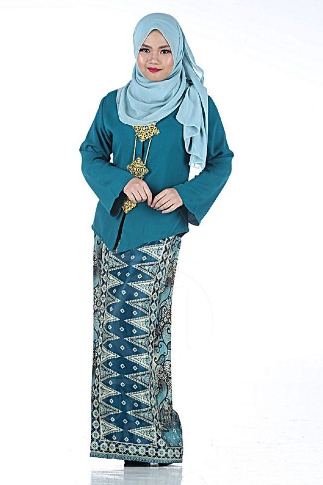Baju Kurung Kedah Moden Kain Batik