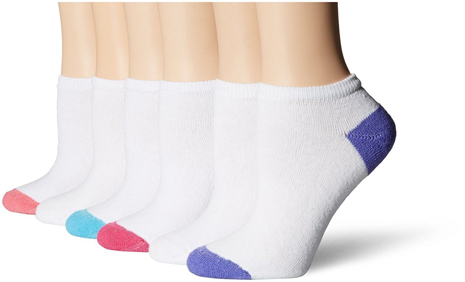 AirStep Women/'s No Show Low-Cut Athletic Socks with Cushion Sole 12 Pair