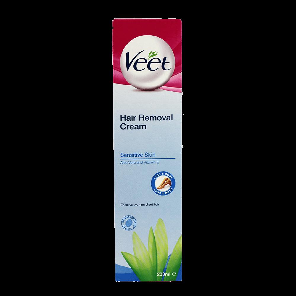 Veet Hair Removal Cream For Sensitive Skin 200ml Hair Removal