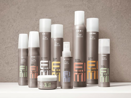 Review, Ingredients: Wella EIMI Dry, Perfect Me, Root Shoot, Sugar Lift Hair Styling Products
