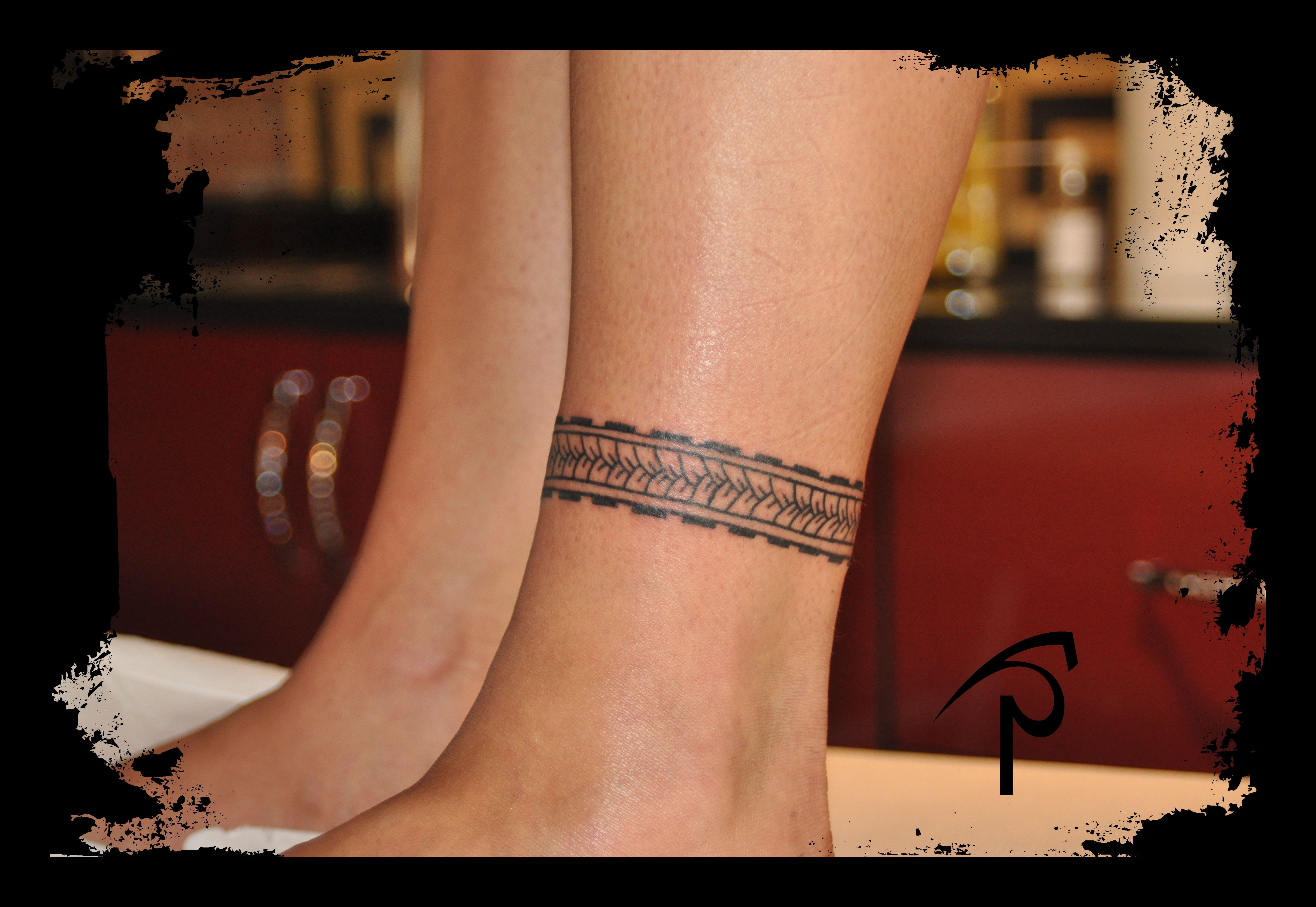 Polynesian Ankle Tattoo Band Leg Band Tattoos Ankle Tattoo Ankle Tattoos