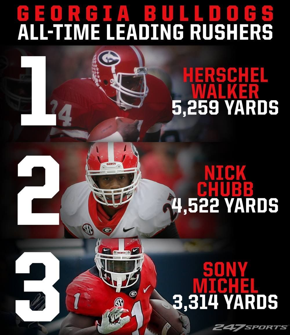 Best Of The Best Sir With Honors And Nick Would Ve Beaten Herschel Had He Not Gotten Injured Georgia Dawgs Georgia Bulldogs Football Georgia Football