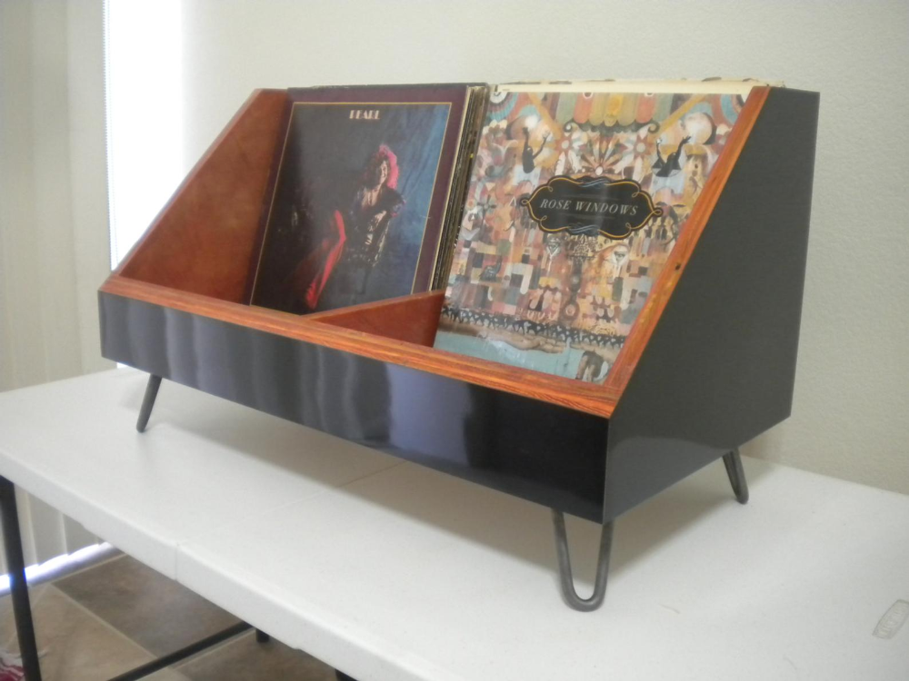 Vinyl Record Storage Stand And Display Holds 130 Lp S Etsy In 2020 Vinyl Storage Record Storage Vinyl Record Storage Furniture