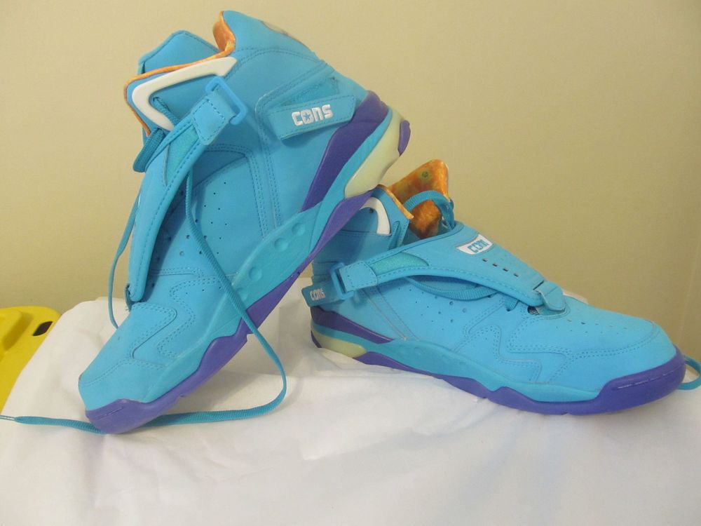 6f2b1296bac039 Converse Aero Jam 144260C Larry Johnson Grandmama Basketball Shoes Men s 13  new  Converse  BasketballShoes