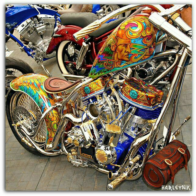 Pin By Donald Evans On Bikes Custom Paint Motorcycle Harley Bikes Custom Motorcycle Paint Jobs