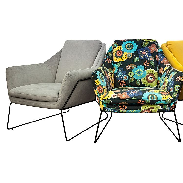 Floral Cube Chair by 6ixty | Zanui