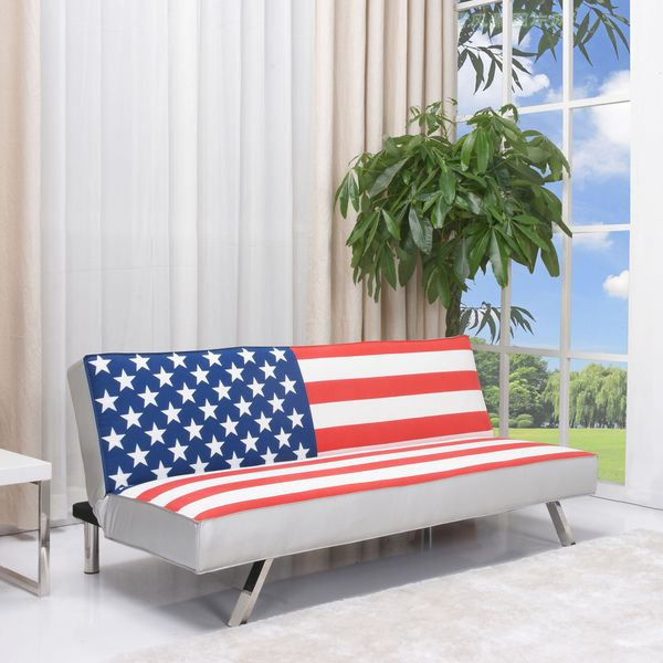 american flag futon sofa bed gold sparrow american flag futon sofa bed white size full      rh   pinterest