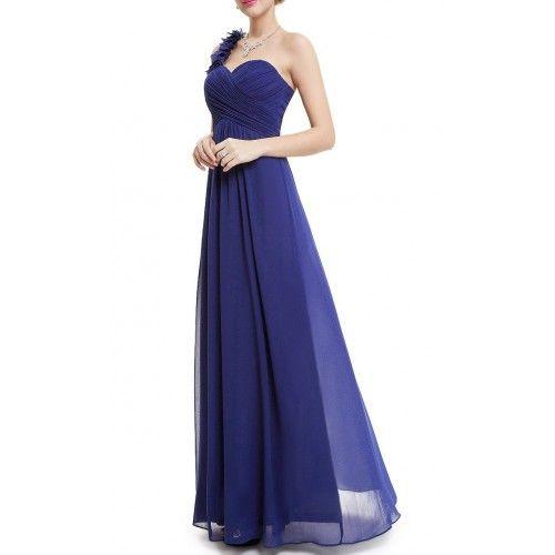 Fiesta Tirante AzulSuen Largo Vestidos Vestido De Flor IYfg7vb6y