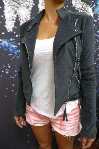 Rider Knit jacket for Woman $25.00 via LinkCie.com