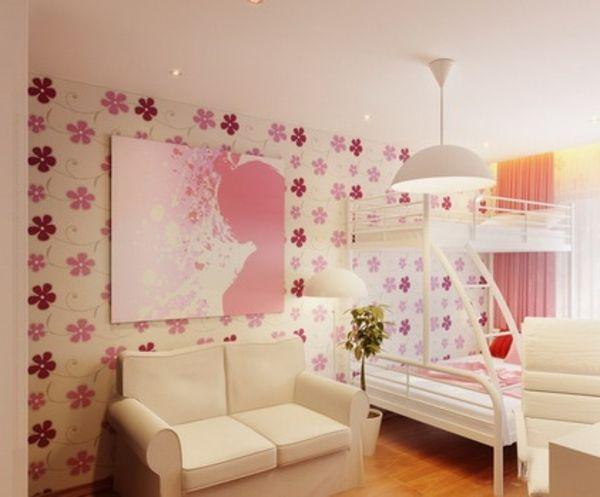 Hochbetten Mädchen rosiges mädchen zimmer mit einem hochbett home design