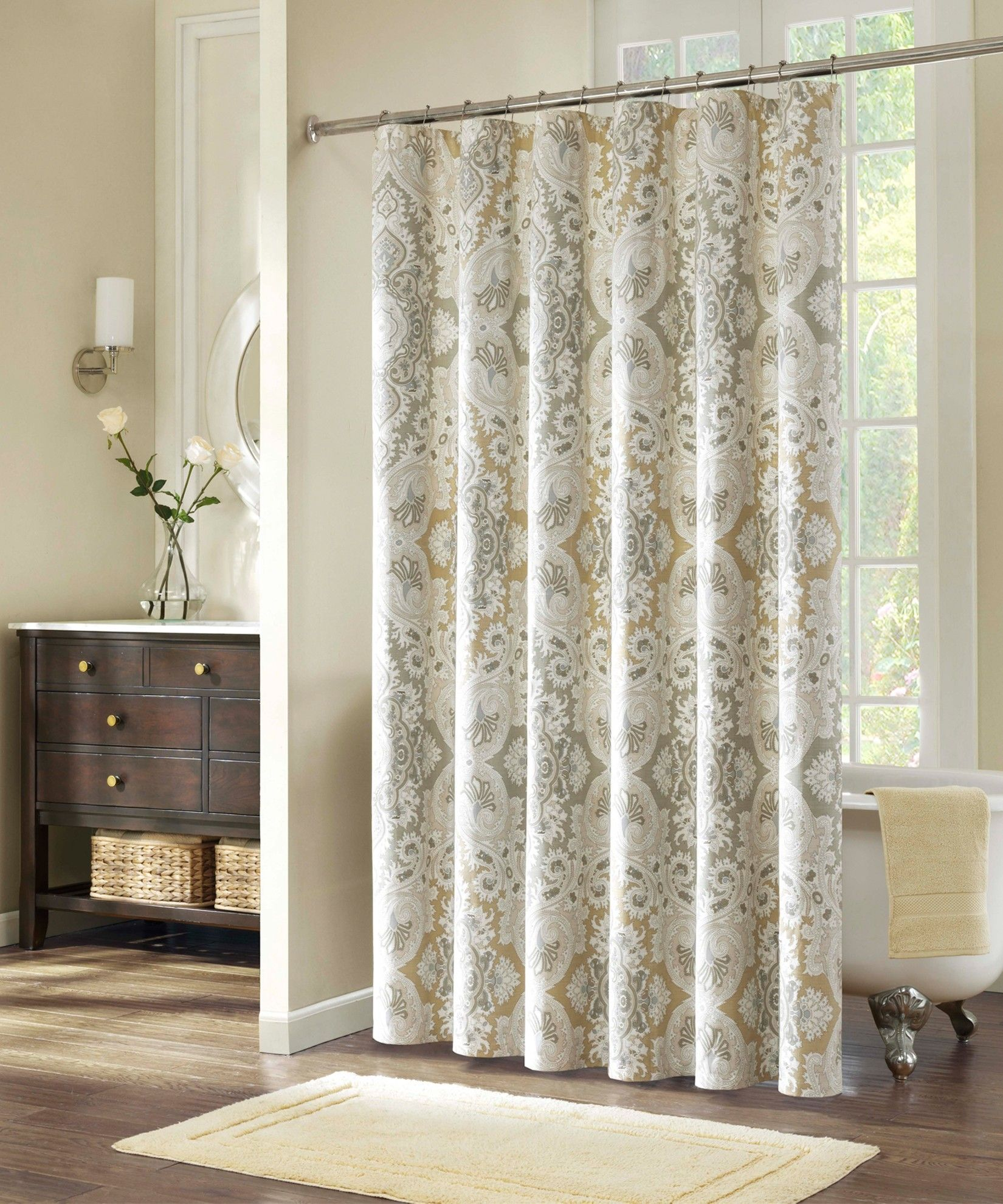 Cute neutral shower curtains shower curtain pinterest neutral