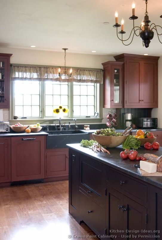 Early American Kitchens #24 (Crown-Point.com, Kitchen-Design-Ideas ...