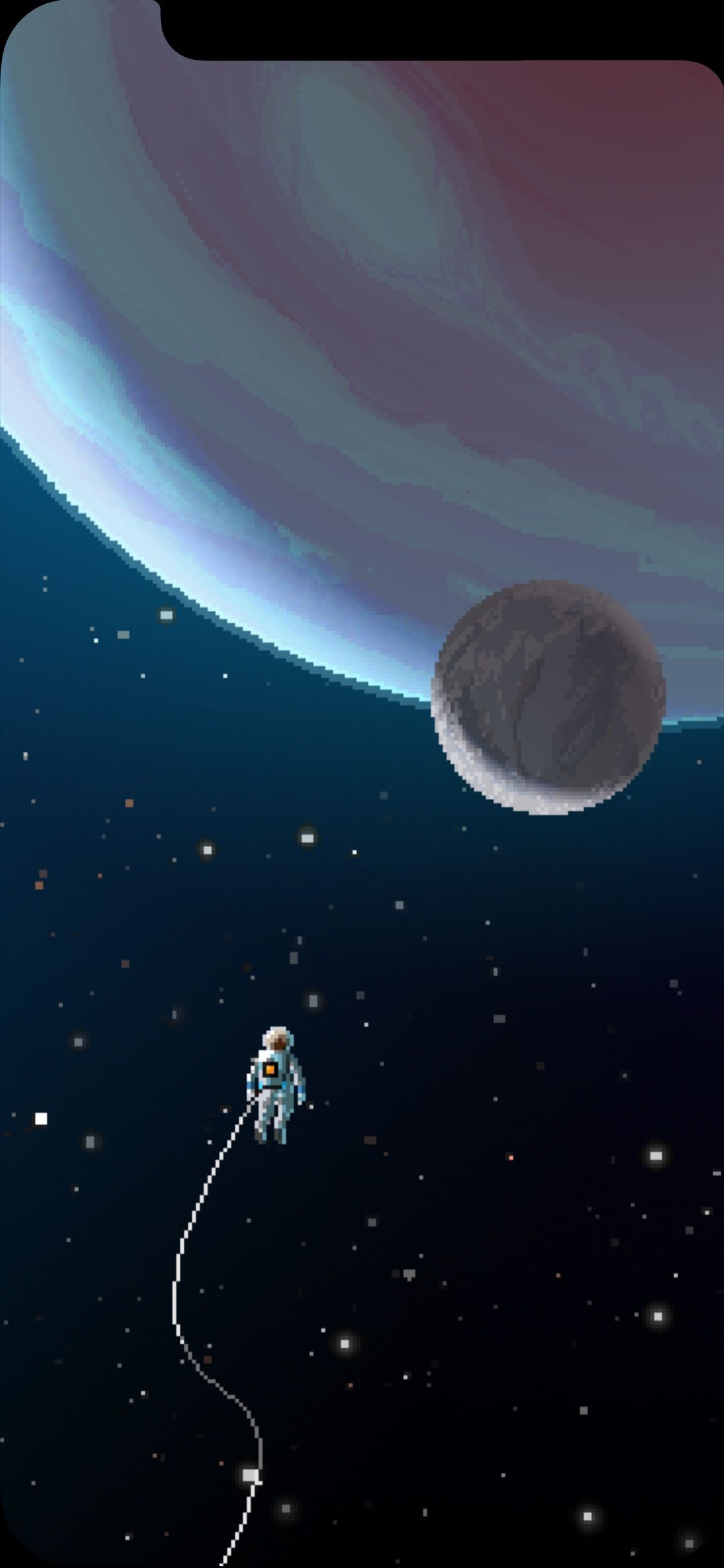Altered For Iphone X Wallpaper Artist On Website Tab Pixel Art Art Wallpaper Wallpaper Space