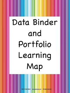 Fern Smith's Classroom Ideas!: Fern's Freebie Friday ~ Data Binder and Portfolio Common Core Standards Learning Map