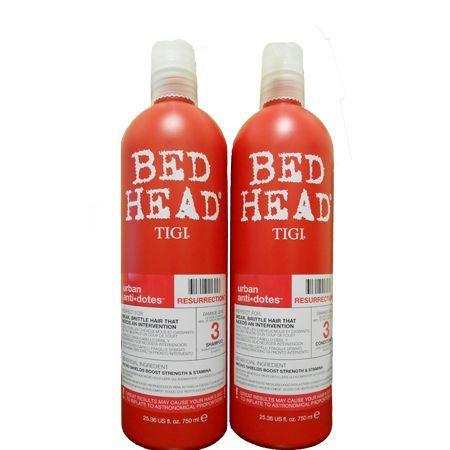 Tigi Bed Head Urban Antidotes Resurrection Shampoo And Conditioner Duo 25 36oz Shampoo Bed Head Resurrection Tigi Hair Products