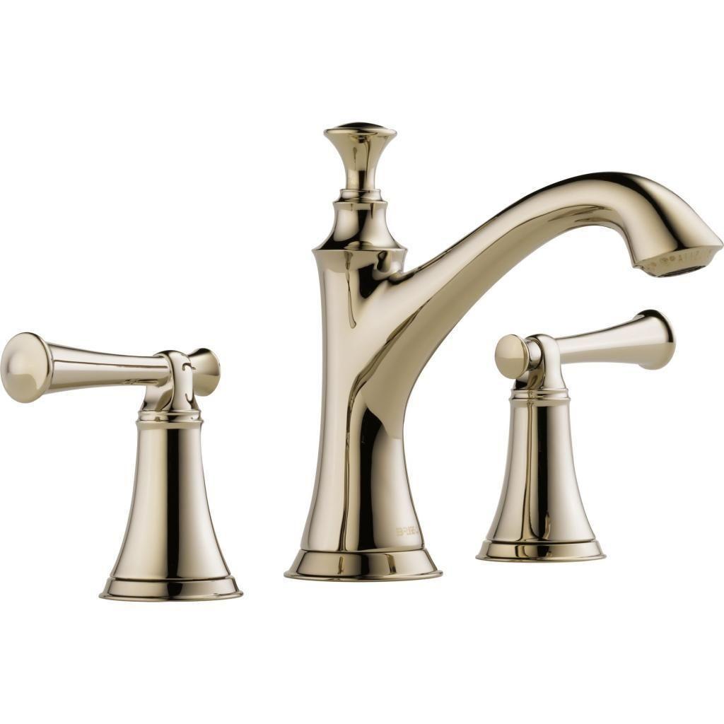 Delta Faucets Brizo Baliza Double-handle Widespread Lavatory Faucet ...