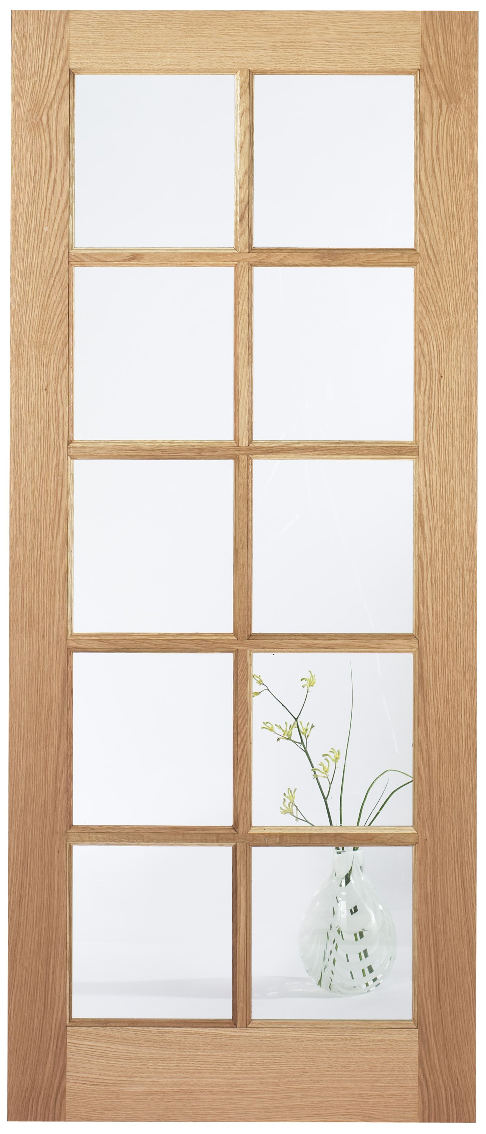Internal Door Oak Sa10 Light Clear Flat Glass Untreated Lpd Buy 10 For Further Discount Internal Doors Oak Glazed Internal Doors Glass Panel Internal Doors