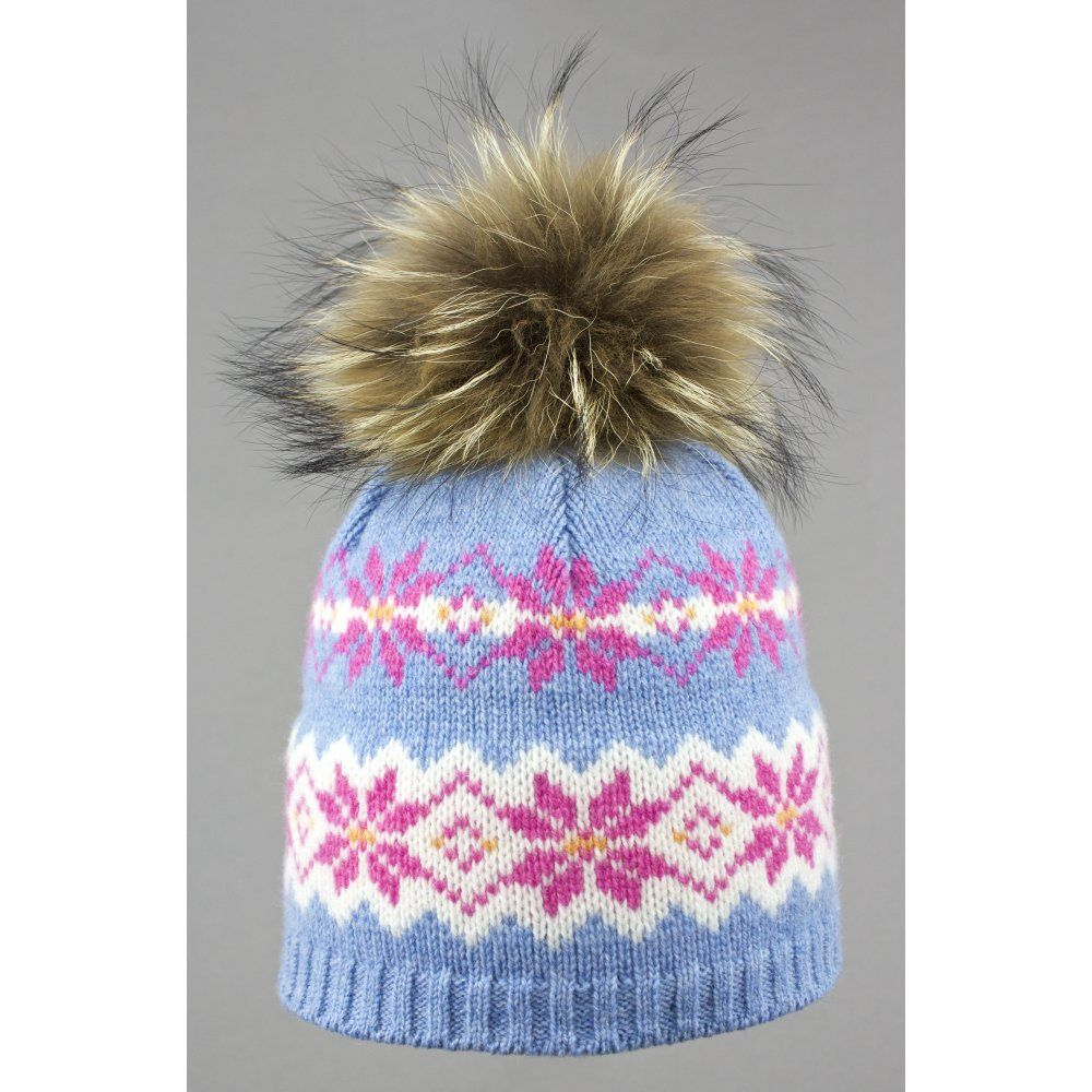 f03f736bdbe Steffner Malmo Womens Ski Hat In Light Blue