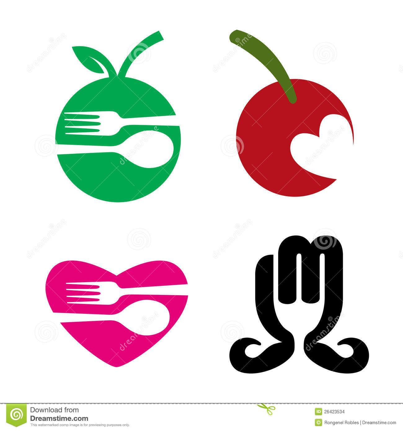 food industry logo stock vector image 47928279 food trends rh pinterest ca food industry logos and names best food industry logos