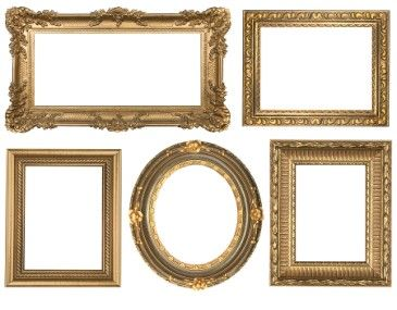 Multiple Empty Picture Frames Google Search Picture Frame Wall