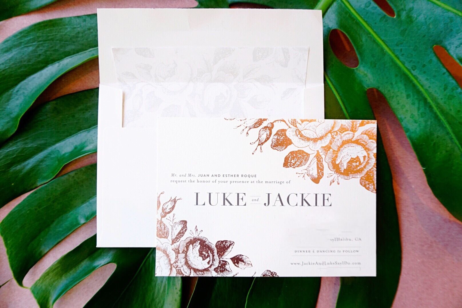 My Wedding Invitations with Minted Minted wedding