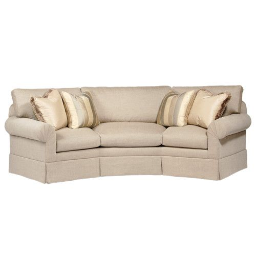 Curved Back Conversation Sofa