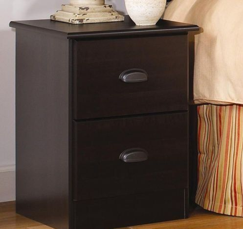 Lang Furniture Special 2 Drawer Night Stand 16 By 16 By 23 Inch