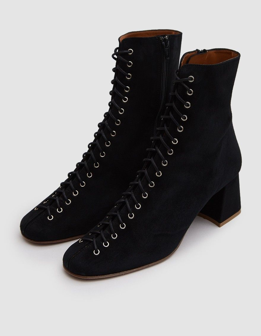 8809d39d7a0 Becca Suede Ankle Boot in Black | Digging It | Suede ankle boots ...