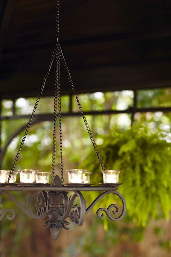 Outdoor Chandeliers For Gazebos With Candles Outdoor Chandeliers