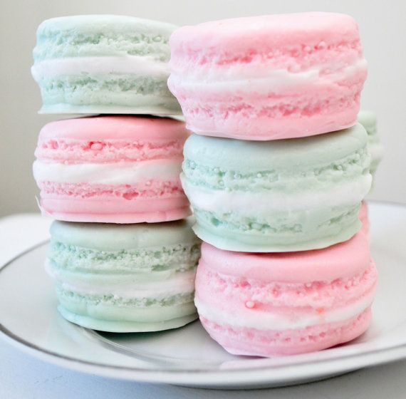 French Macaron Soaps - So delicious looking...
