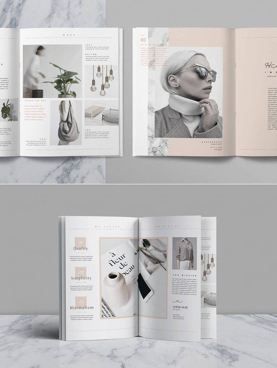 portfolio  u0026 magazine psd template  u2014 lookbook template for photographer   creatives  u2014 fashion