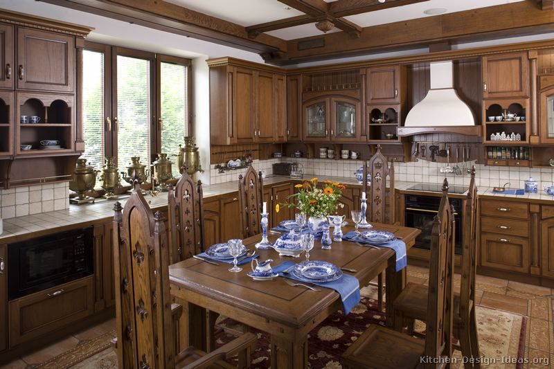Old World Style Kitchens Pictures Of Traditional Medium Wood Cabinets Brown Page Kitchen Remodel Cost Simple